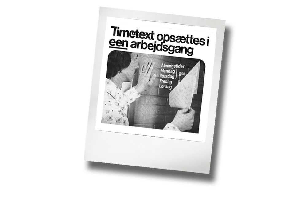 1972 systemtext 1000
