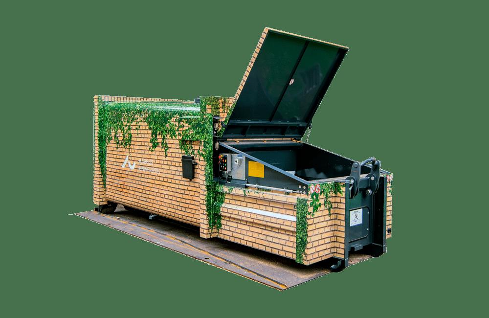 Container foliedekoration 1000 5