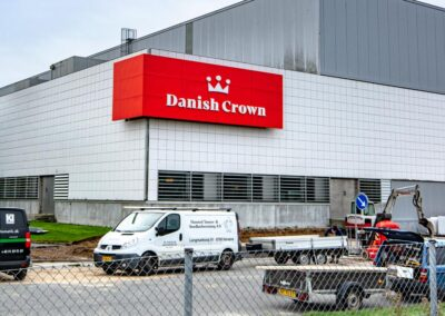 Facadeskilt for Danish Crown - Nonbye A/S