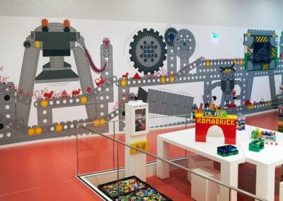 Selvklæbende folie LegoHouse Lego