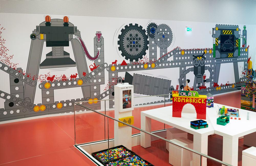 LegoHouse Foliedekoration 10 1000