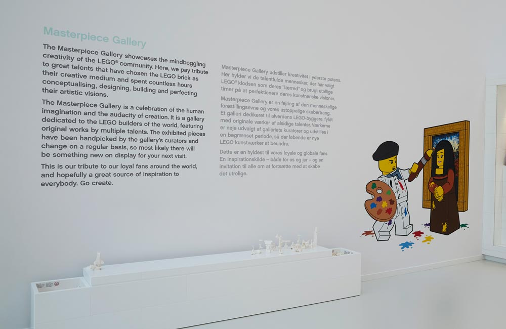LegoHouse Foliedekoration 3 1000