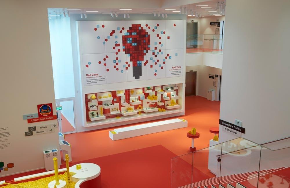 LegoHouse Foliedekoration 4 1000