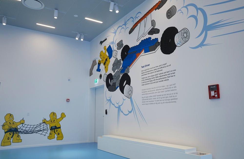LegoHouse - Wayfinding