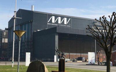 17 x 6,5 meter logo til MHI Vestas