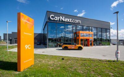 Skiltning til CarNext.com i tæt samarbejde med Glimma