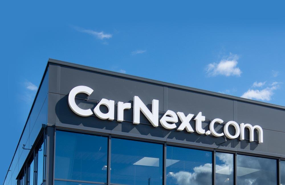CarNext facadeskilt