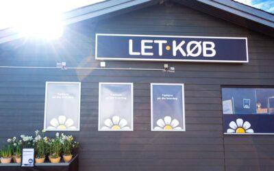 Nye og tidssvarende facader til Let-Køb