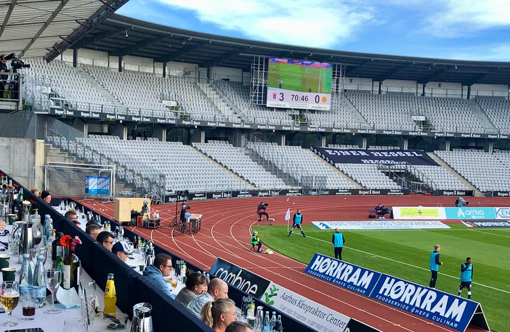 AGF Stadion Lounge Bannere