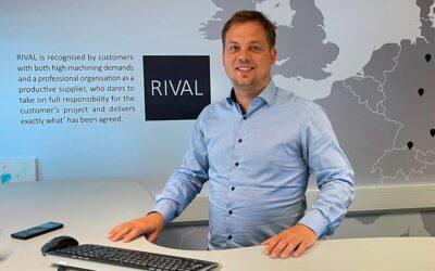 Foliedekoration sætter RIVALs kunder på landkortet