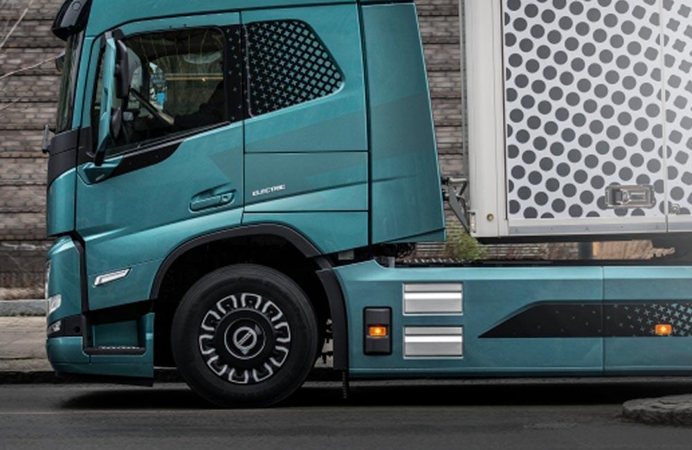 Bildekoration til Volvos truck - Nonbye A/S