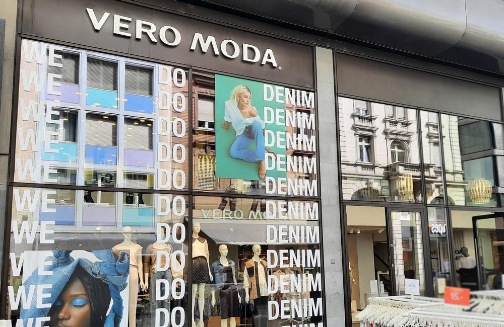 Foliedekoration til Vero Moda - Nonbye A/S